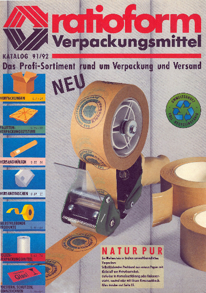 1991 1992 Hauptkatalog