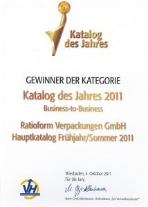 Katalog des Jahres 2011