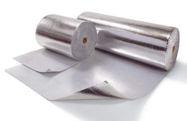Luftpolsterfolie-metallisiert